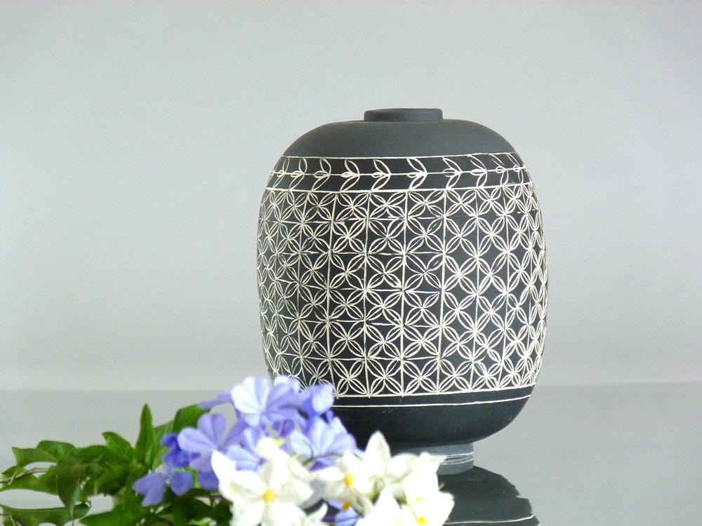 vaso in ceramica artigianale
