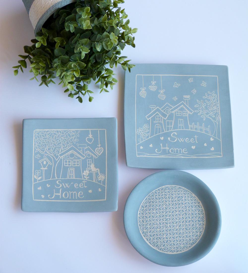 piatti in ceramica artigianale