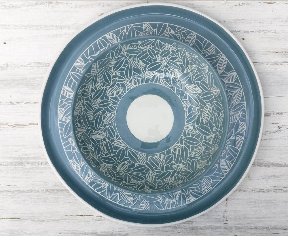 gruppo-ceramiche-artigianali-centrotavola-azzurri